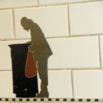 Subway tile art