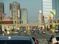 Entrance to the Holland Tunnel, NJ side