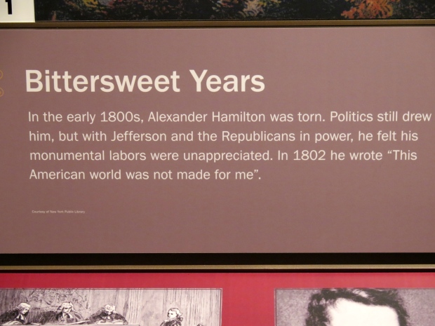From The Grange, home of Alexander Hamilton