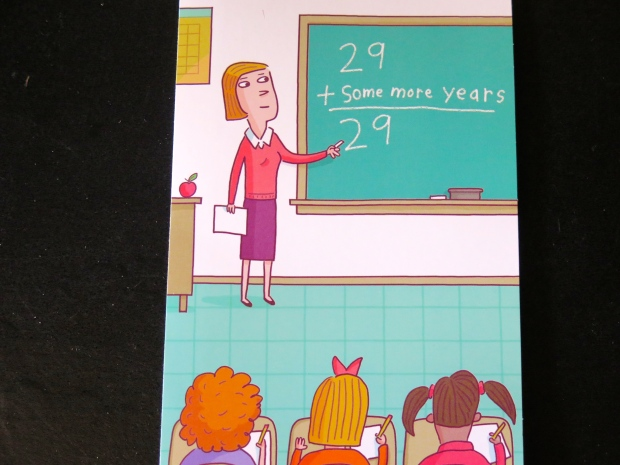 The new new math. Or, if you prefer, the new middle aged math.