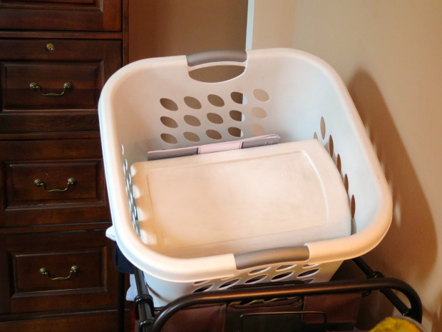 Oh, the laundry basket