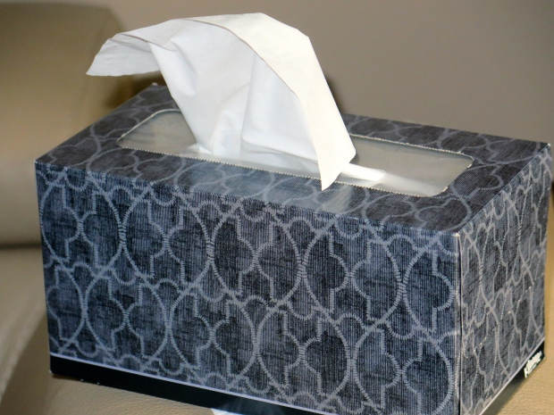 My week, in a tissue box.