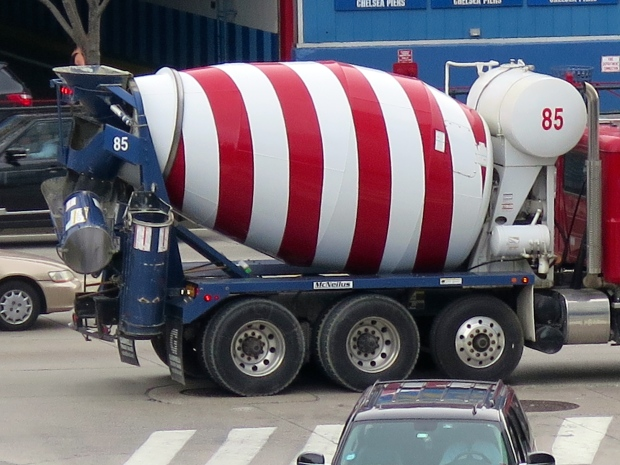 Surely I'm trapped inside this cement mixer.