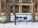 Poor swings, ignored in favor of sledding today