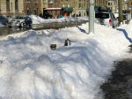 I swear the mayor said something about keeping the fire hydrants cleared of snow.
