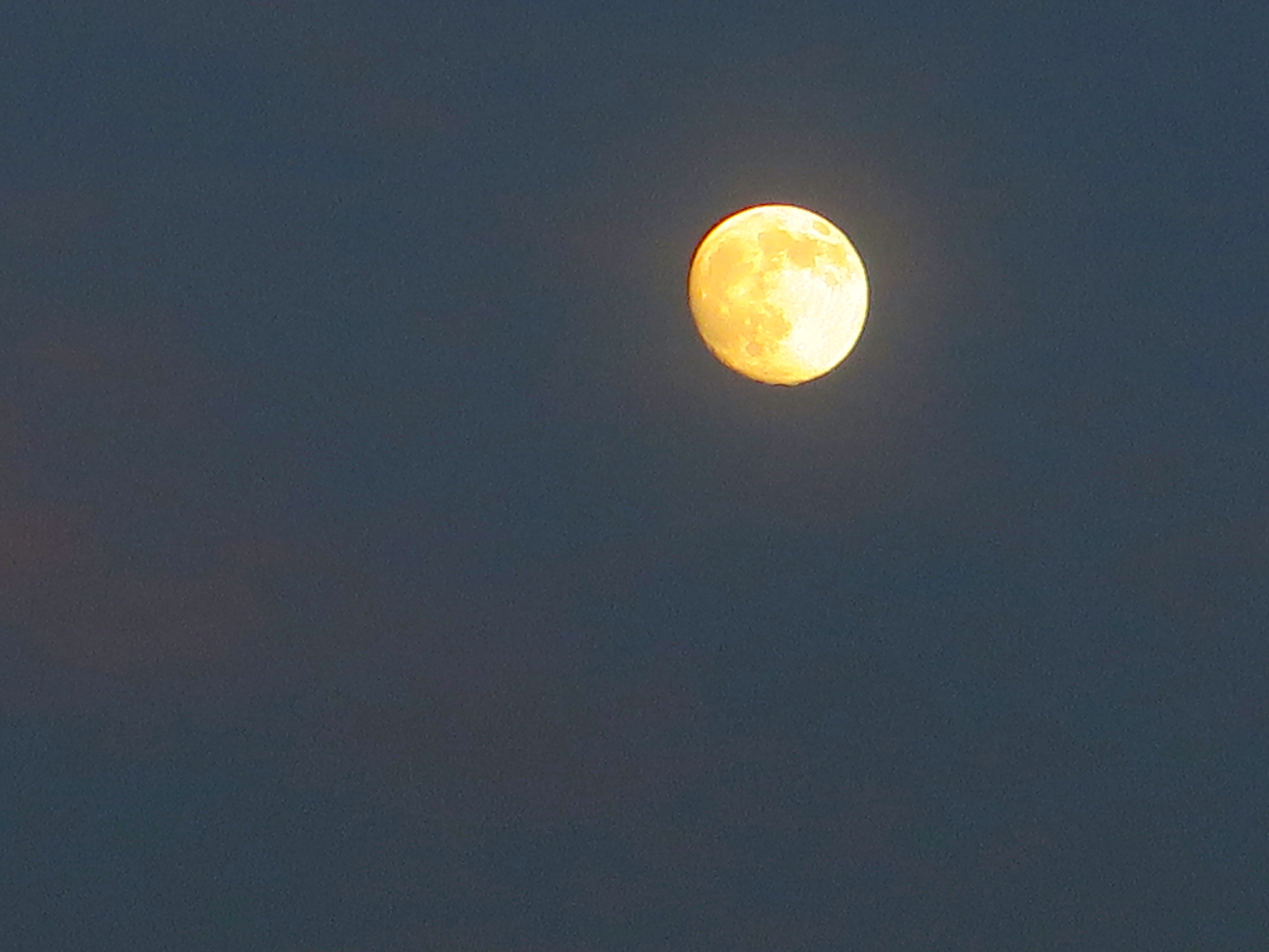 This full moon wasn't last night, but it felt like it should have been.